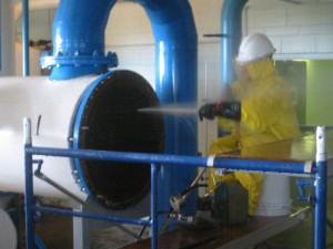 Cleaning Of Heat Exchanger