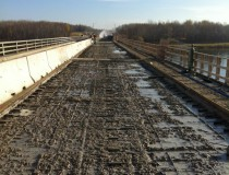Exterior Bridge Hydrodemolition – Pinawa Bridge